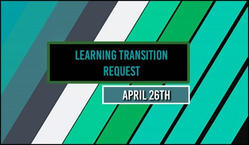 learning transition request
