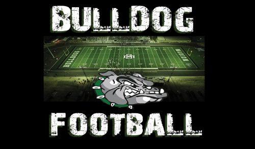bulldog football graphic
