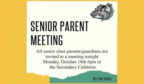 senior parent meeting